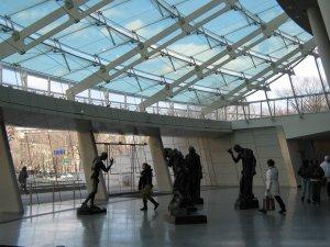 Brooklyn Museum Glass Lobby